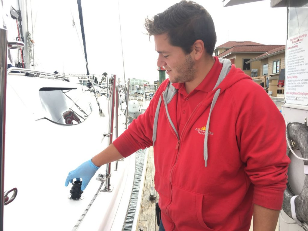, Fueling a Sailboat Safely and Efficiently