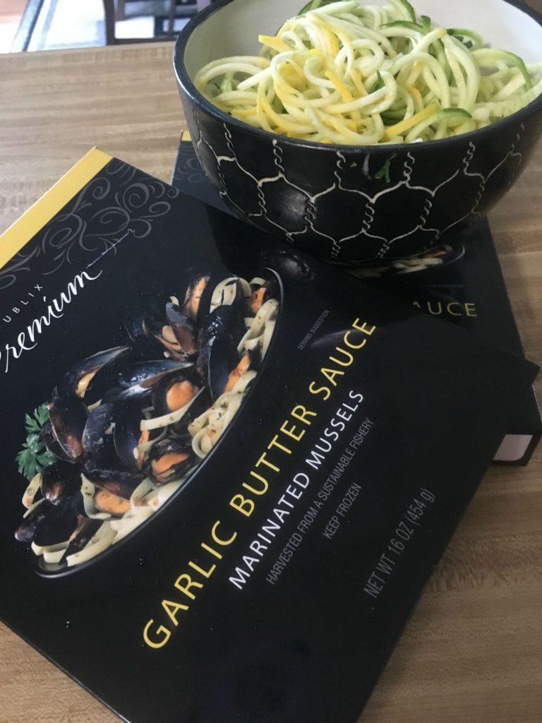 spiralized vege, Spiralized Zucchnini Squash Pseudo Pasta