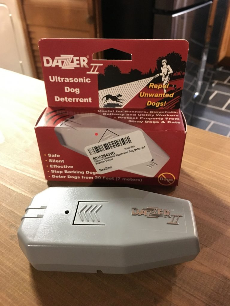 , How to Deal With Aggressive Dogs While Cycling // Review of the Dazer II Ultrasonic Aggressive Dog Deterrent Repeller by Dazzer