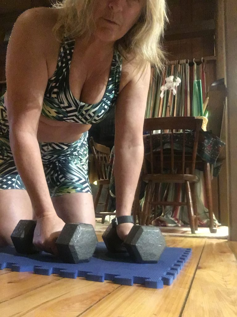 , Too Cold to Run Outside – Alternate Workout Idea With Sunshiney Pineapple Clothing Wear