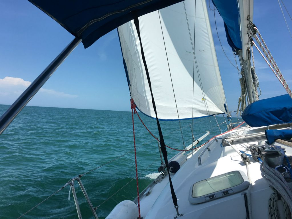 , Anatomy of a Sailboat – Part 1 – On Deck