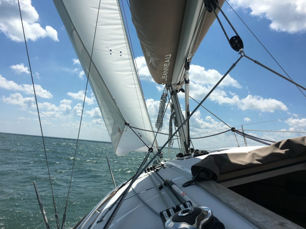 , Points of Sail – An Easy Way to Learn the Points of Sail