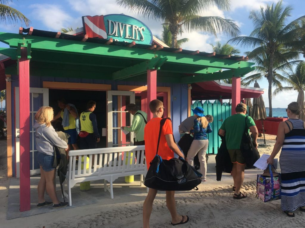 ", SCUBA Diving at Coco Cay – Little Stirrup Cay – on RCCL ""Enchantment of the Seas"""