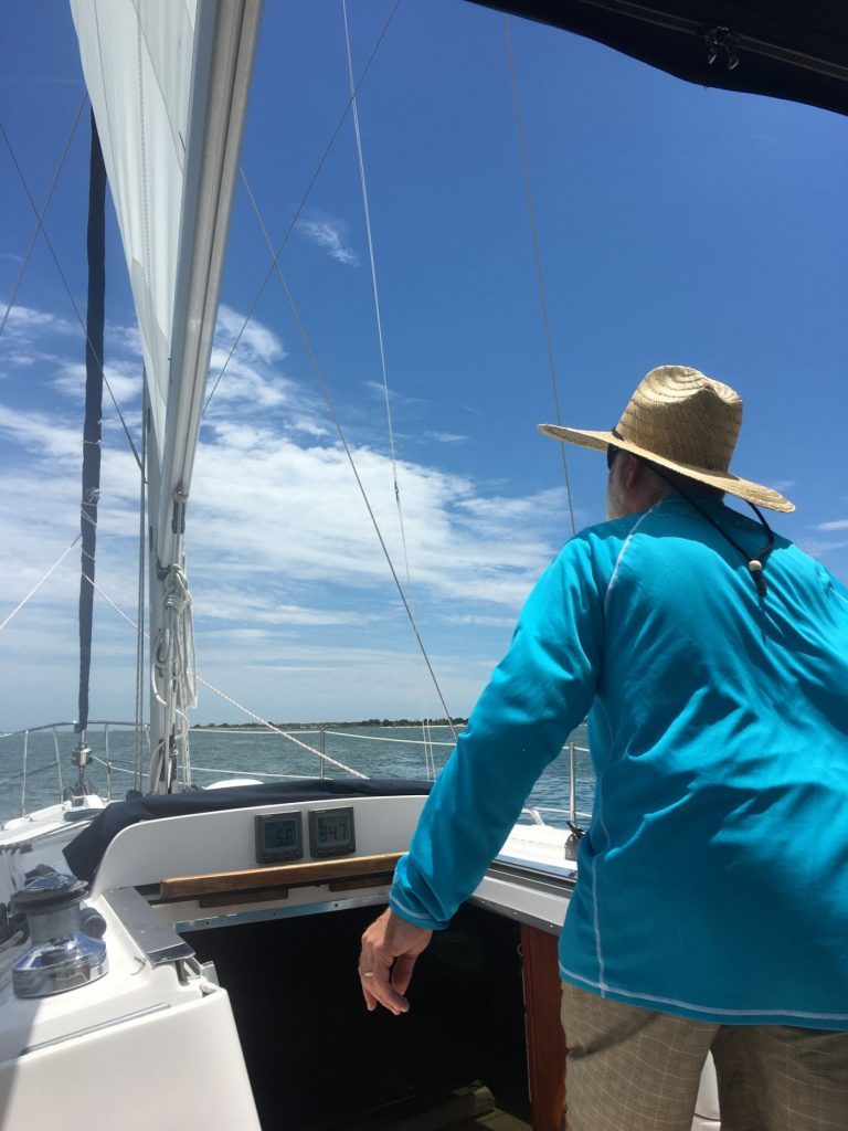 In Search of the Best Sailing Hat Ever • Deep Water Happy