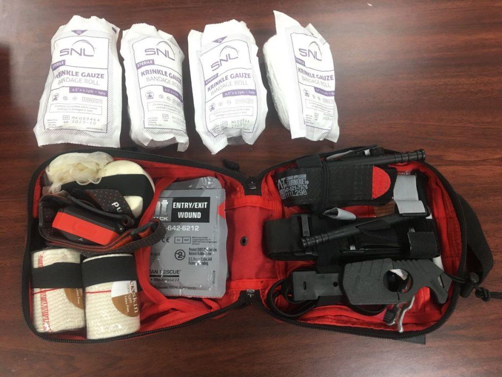 , What's In My Classroom Bleeding Control Kit // Prepared High School Teacher