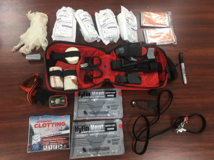 , What's In My Classroom Bleeding Control Kit // Prepared High School Teacher