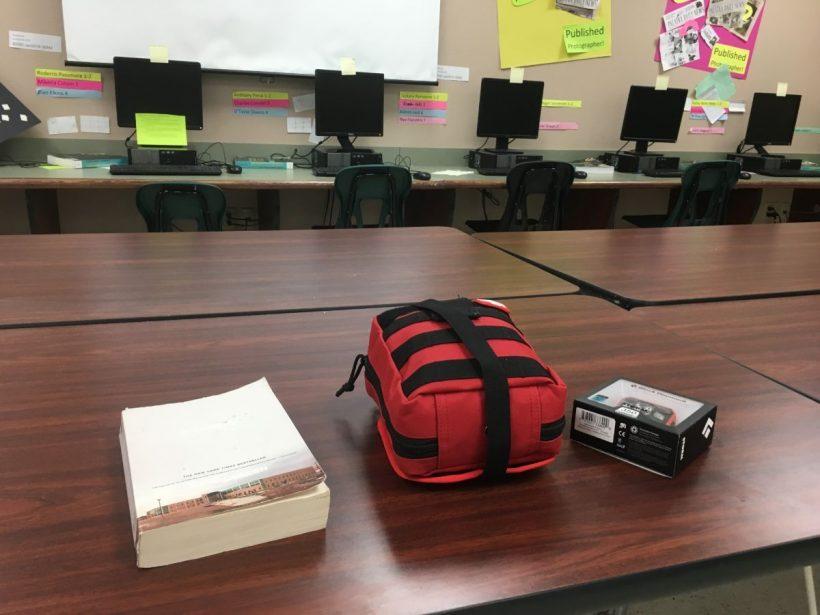 , Classroom Bleeding Control Kit // High School Teacher Packing in the Classroom