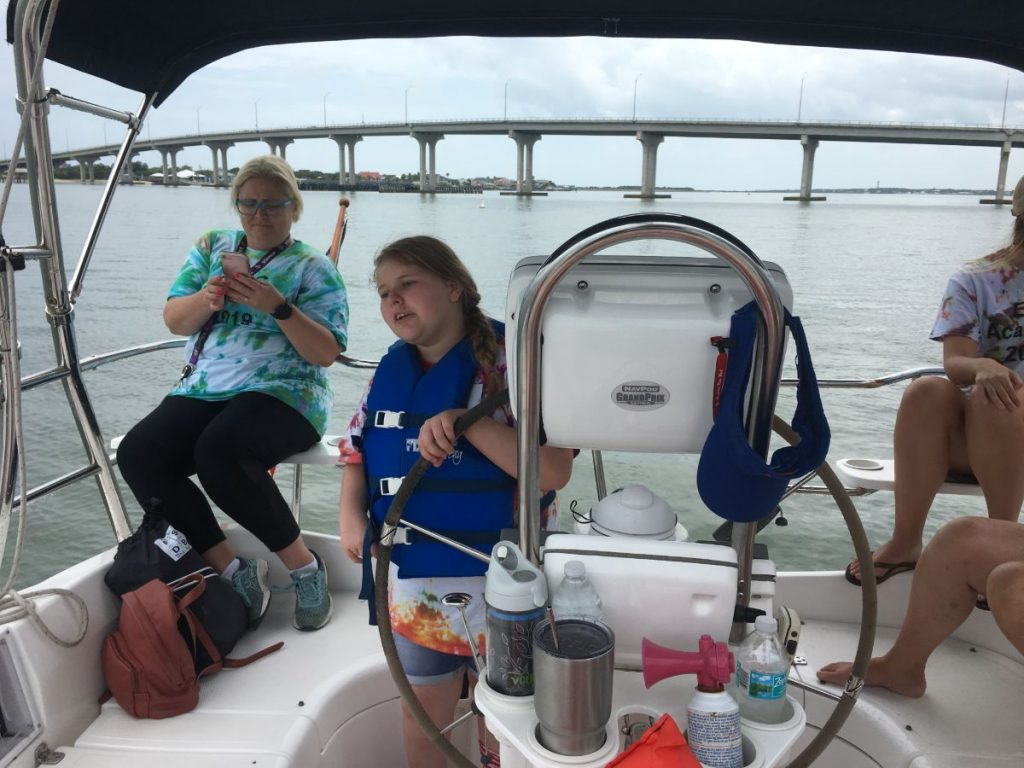 , Sailing With Students from The Florida School for the Deaf and the Blind // Learning Knots and Terms