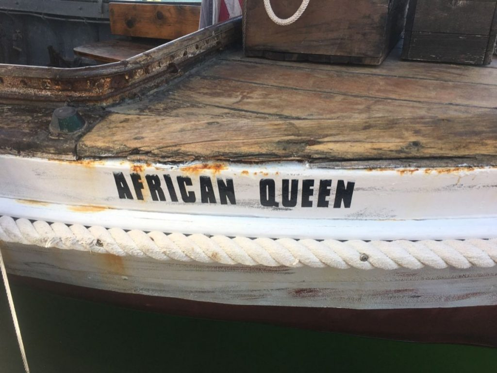 , The African Queen // Katharine Hepburn & Humphrey Bogart's Famous Boat in Key Largo