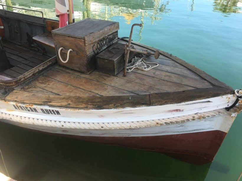 , The African Queen // Katharine Hepburn & Humphrey Bogart's Famous Boat in Key Largo