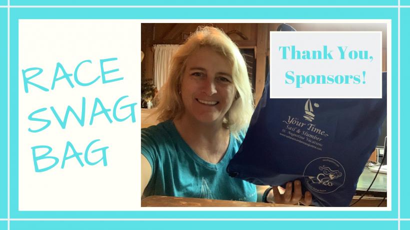 , SASS Bikini Race Captain's Bag // Thank You Sponsors! // Deep Water Happy