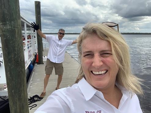 , St. Johns River // Bartram Frolic // Riverboat Tour in Palatka, Florida