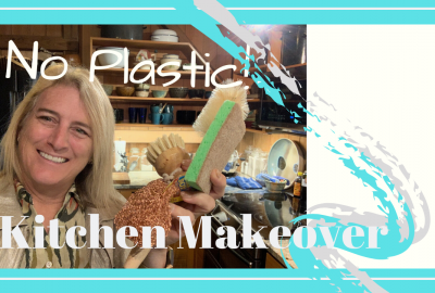 Eliminating Kitchen Plastic, KITCHEN MAKEOVER // ELIMINATING PLASTIC // Deep Water Happy
