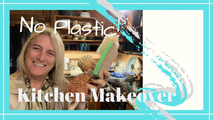 , Kitchen Makeover // Eliminating Plastic // Deep Water Happy