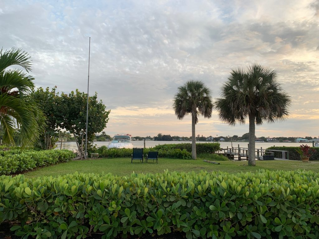 , Waterfront on Roberts Bay // Venice Florida // Airbnb Review