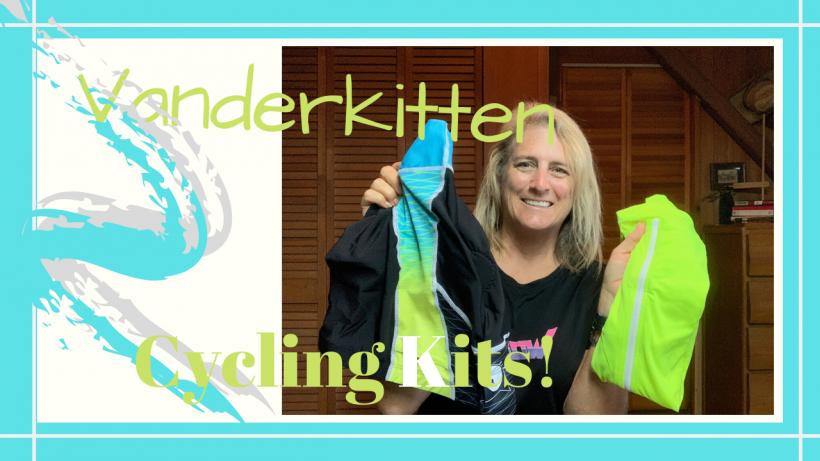 Cycling Kits for Women, Fall Cycling // Vanderkitten Haul // Mix and Match Cycling Kits // DeepWaterHappy