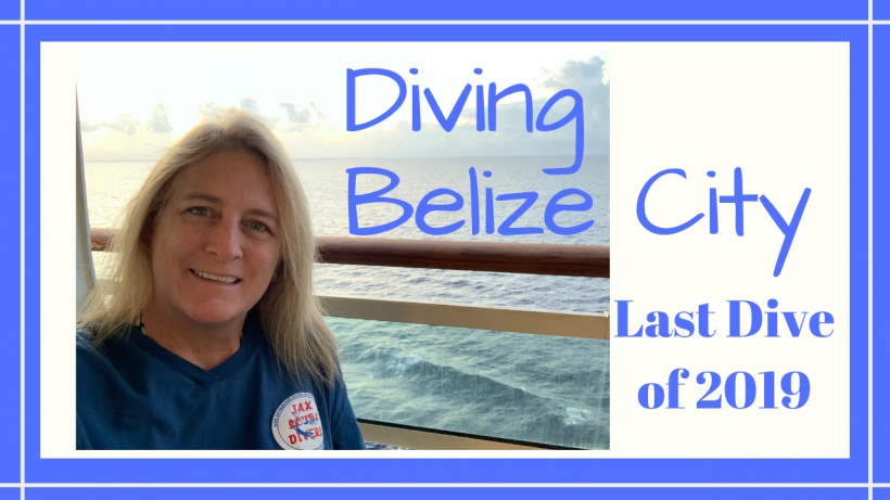 , Diving Belize City New Year's Eve Day // Last Dive of 2019 // Deep Water Happy