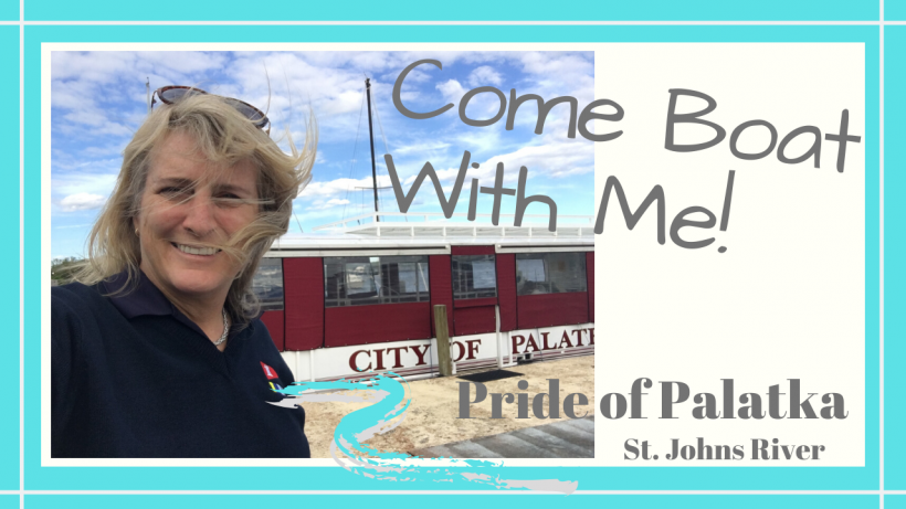 Pride of Palatka, COME BOATING WITH ME // PRIDE OF PALATKA FLORIDA RIVERBOAT TOURS // Deep Water Happy