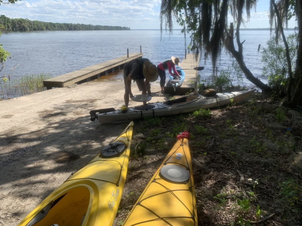 Shell Bluff Kayak, Searching for Salt Creek // Shell Bluff Park Bunnell Florida // Kayaking Crescent Lake