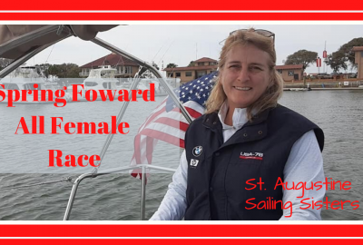 , 2020 SPRING FOWARD RACE // ST. AUGUSTINE SAILING SISTERS // Deep Water Happy