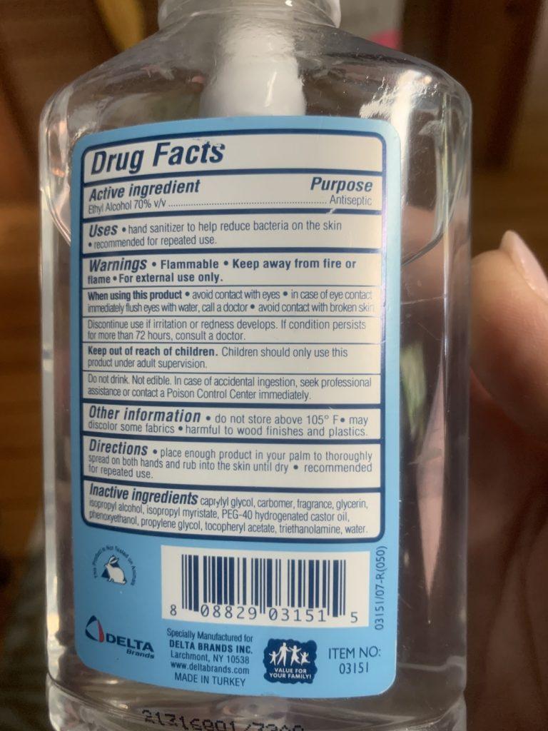 , Biodegradable Spray Hand Sanitizer // No Microplastics // Green Hygiene for Covid 19