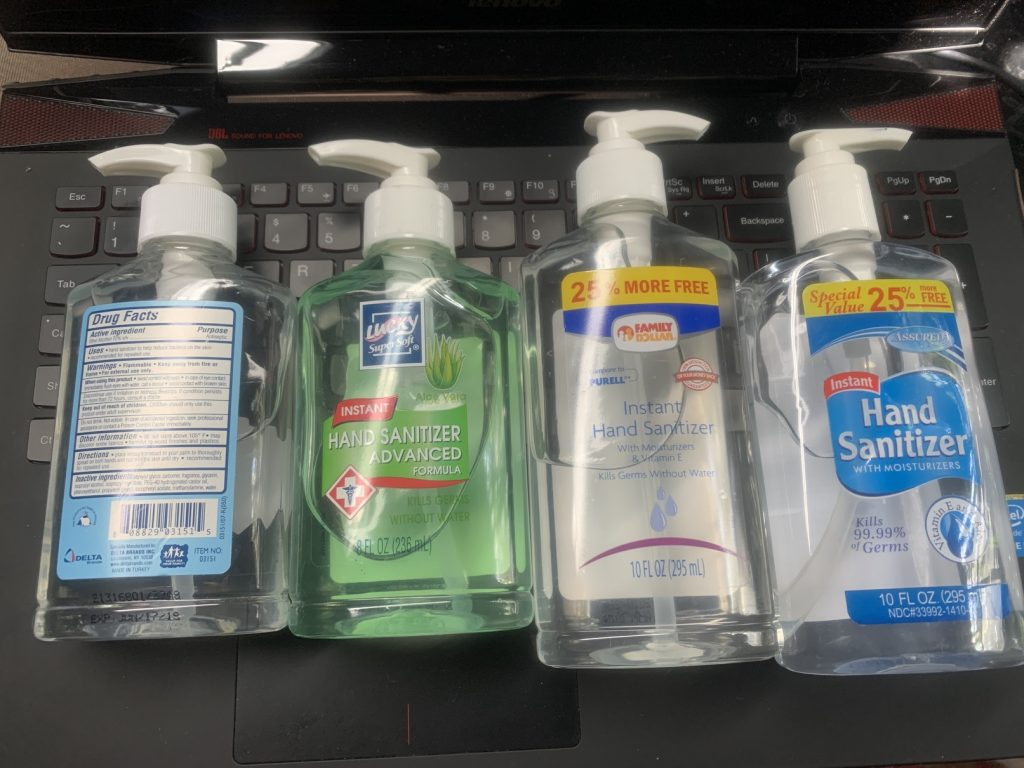, Biodegradable Spray Hand Sanitizer // No Microplastics // Green Hygiene for Covid 19