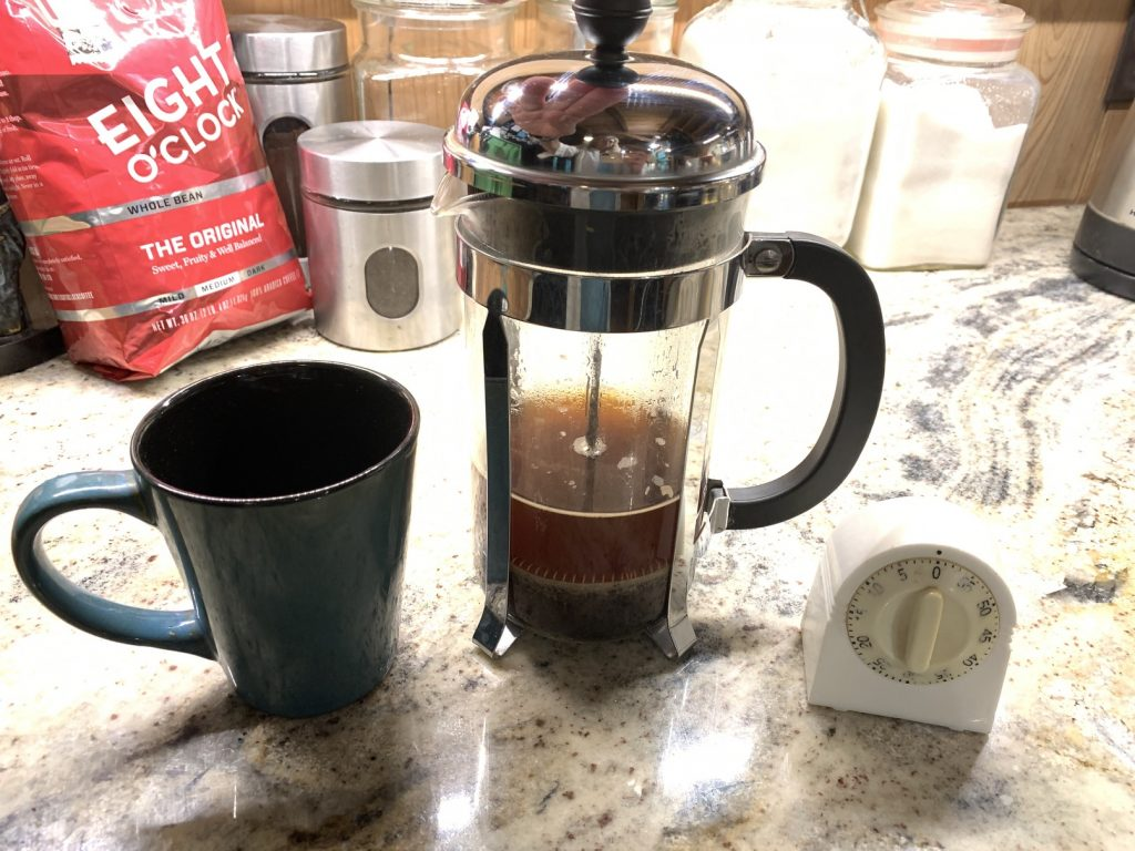 french press coffee, Make Your Own French Press Coffee // Caffeine Diaries
