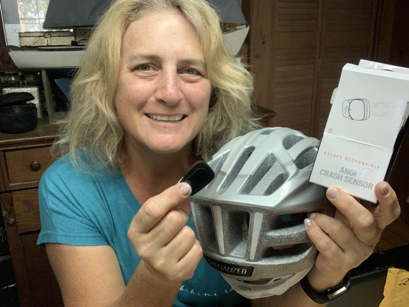 Specialized ANGi, My Cycling Helmet Can Call For Help // Specialized ANGi and Road ID