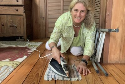 wood floor dents, How To Remove Dents From Your Soft Wood Floors // Heat and Steam