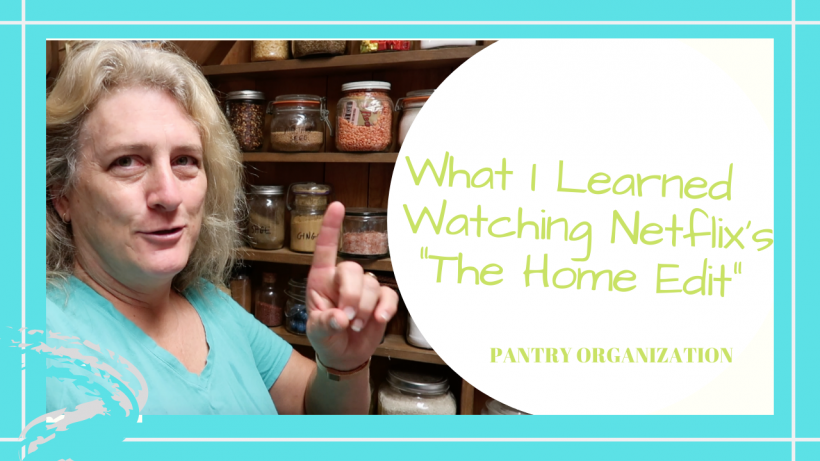 "The Home Edit on Netflix, WHAT YOU CAN LEARN FROM NETFLIX'S ""THE HOME EDIT"" // PANTRY ORGANIZATION // Deep Water Happy"