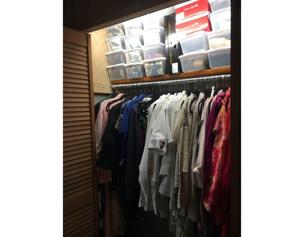 How To Organize A Tiny Closet Beautifully Deep Water Happy