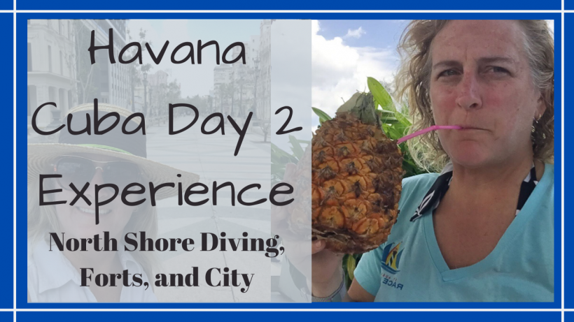 Diving Havana Cuba, HAVANA, CUBA // NORTH SHORE DIVING, FORTS, EXPLORING THE OLD CITY // Deep Water Happy